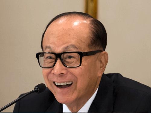 30 najbogatejših ljudi na svetu - Li Ka-shing