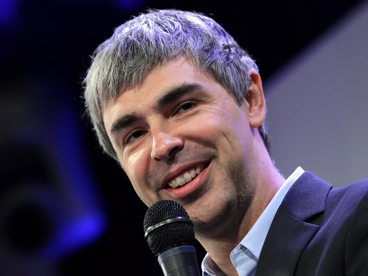 Larry Page (Vir: Getty / Justin Sullivan)
