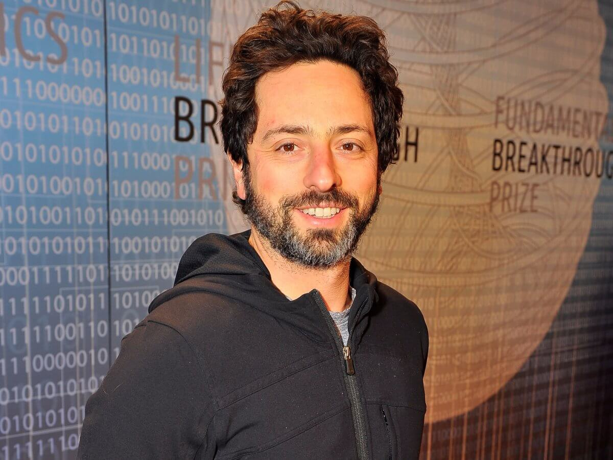 Sergey Brin (Vir: Steve Jennings/Getty Images)