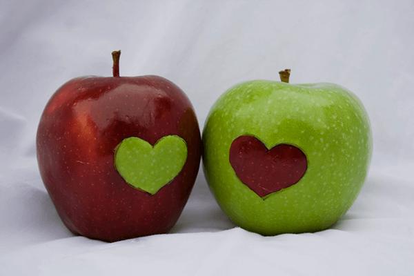 koristi uživanja jabolk_srce